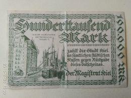 Kiel 100000 Mark 1923 - [11] Emissioni Locali