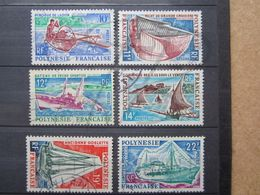 VEND BEAUX TIMBRES DE POLYNESIE N° 36 - 41 !!! - Polinesia Francese