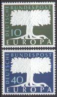 DEUTSCHLAND 1957 Mi-Nr. 268/69 ** MNH - CEPT - Europa-CEPT