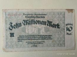 Karlsruhe 10 Milioni Mark 1923 - [11] Emissioni Locali