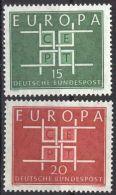 DEUTSCHLAND 1963 Mi-Nr. 406/07 ** MNH - CEPT - Europa-CEPT