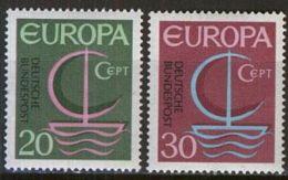 DEUTSCHLAND 1966 Mi-Nr. 519/20 ** MNH - CEPT - Europa-CEPT