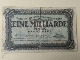 Kiel  1 Miliardo Mark 1923 - [11] Emissioni Locali