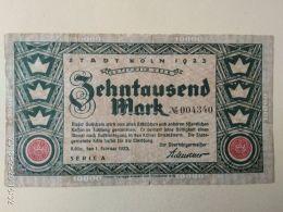 Koln 10000 Mark 1923 - [11] Emissioni Locali