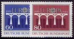 DEUTSCHLAND 1984 Mi-Nr. 1210/11 ** MNH - CEPT - Europa-CEPT