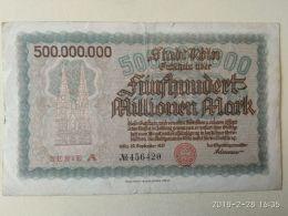 Koln 500 Milioni Mark 1923 - [11] Emissioni Locali