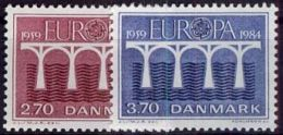 DÄNEMARK 1984 Mi-Nr. 806/07 ** MNH - CEPT - Europa-CEPT
