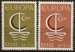 GRIECHENLAND 1966 Mi-Nr. 919/20 ** MNH - CEPT - Europa-CEPT