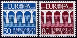 LIECHTENSTEIN 1984 Mi-Nr. 837/38 ** MNH - CEPT - Europa-CEPT