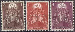 LUXEMBURG 1957 Mi-Nr. 572/74 ** MNH - CEPT - Europa-CEPT