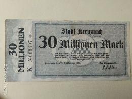 Kreuznadh 30 Milioni Mark 1923 - [11] Emissioni Locali