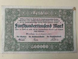 Werdau 500000 Mark 1923 - [11] Emissioni Locali