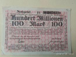 Zittau 100 Milioni Mark 1923 - [11] Emissioni Locali