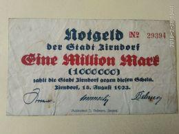 Zirndorf 1 Milione Mark 1923 - [11] Emissioni Locali