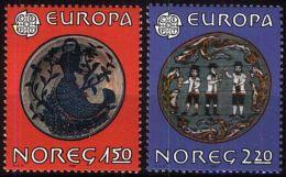 NORWEGEN 1981 Mi-Nr. 836/37 ** MNH - CEPT - Norwegen