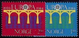 NORWEGEN 1984 Mi-Nr. 904/05 ** MNH - CEPT - Europa-CEPT