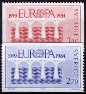 SCHWEDEN 1984 Mi-Nr. 1270/71 ** MNH CEPT - Europa-CEPT