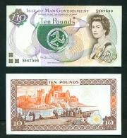ISLE OF MAN  -  2007  £10  Signature  Shimmin  UNC Banknote - [ 4] Isle Of Man / Channel Island