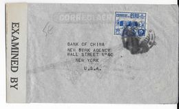 PEROU - 1943 - ENVELOPPE AIRMAIL Avec CENSURE US De LIMA => USA - Peru