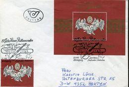 31552  Austria,  Fdc  1992  S/s  150 Year Wiener Philarmoniker,, - Musik