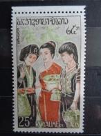 LAOS 1965 Y&T N° 105 ** + P.A. N° 43 à 45 - ETHNIES - Laos