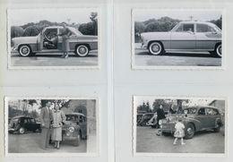 Lot De 44 Photographies De Beaux Plans De Voitures Années 50/60 (toutes Scannées)voir Description - Automobile