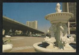 Saudi Arabia Picture Postcard Memorial Jeddah View Card - Saudi Arabia