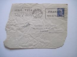 1949 SERO VITA PARIS XVI  Face Avant D'enveloppe - Marcophilie (Lettres)