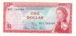East Caribbean States , 1 Dollar . P-13d. UNC - East Carribeans