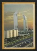 United Arab Emirates UAE Dubai Picture Postcard Aerial View Dubai Towers View Card - Dubai