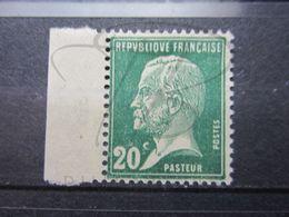 VEND BEAU TIMBRE DE FRANCE N° 172 + BDF , XX !!! (b) - 1922-26 Pasteur