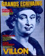 Grands Écrivains - N° 35 - VILLON - Biographie