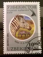FRANCOBOLLI STAMPS UZBEKISTAN 1995 SERIE TASHKENT ZOO - Uzbekistan