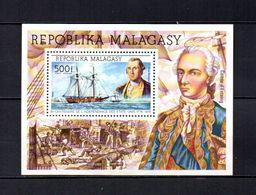 Madagascar   1973  .-  Y&T  Nº   7     Block - Madagascar (1960-...)
