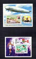 Madagascar   1976  .-  Y&T  Nº   10-11     Blocks - Madagascar (1960-...)