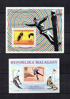 Madagascar   1976  .-  Y&T  Nº   12-14     Blocks - Madagascar (1960-...)