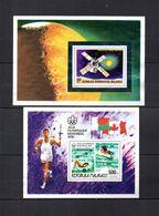 Madagascar   1976-77  .-  Y&T  Nº   15-16     Blocks - Madagascar (1960-...)