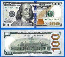 Usa 100 Dollars 2013 Neuf UNC Mint Atlanta F6 Suffixe B Franklin Etats Unis United States Dollar - Bilglietti Della Riserva Federale (1928-...)