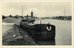 Lummen :  Lossing Geneboa (  Binnenscheepvaart ) - Lummen