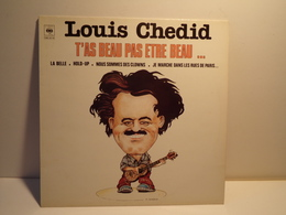 33 TOURS LOUIS CHEDID CBS 32118 T AS BEAU PAS ETRE BEAU - Other - French Music