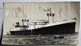 Ancienne Photo Originale  Paquebot LA SEINE - Steamers