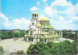 SOFIA LE DOME-MONUMENT ALEXANDRE NEVSKI 1973 - Bulgaria