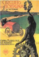 [MD1208] CPM - RIPRODUZIONE - COPPA FLORIO 1908 ALTO PATRONATO DI SAR IL DUCA DI AOSTA - CIRCUITO DI BOLOGNA - NV - Rallyes