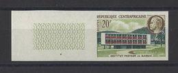 CENTRAFRICAINE République. YT 13 ND Neuf **  Inauguration De L'Institut Pasteur à Bangui 1961 - Central African Republic