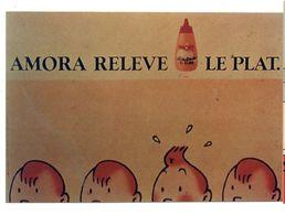 TINTIN  -   AMORA RELEVE LE PLAT   EDITION IMAGES GROUP - Stripverhalen