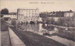 CPA Dept 47 AIGUILLON Moulin Sur Le Lot - France