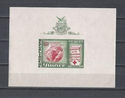GUINEE. YT Bloc 1  Neuf **  Centenaire De La Croix-Rouge Internationale 1963 - Guinée (1958-...)