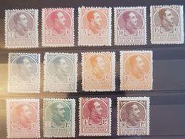 Guinea N° 128/140. Sin Charnela. - Guinea Española
