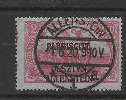 Sello De Allenstein Nº Michel 13c (o). - Besetzungen 1914-18