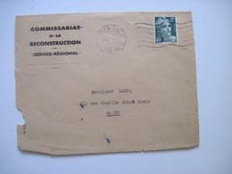 1946 Que La Face Avant - Marcophilie (Lettres)